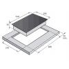 Варочные поверхности FABIANO FHG16-2VGH Black Glass
