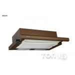 Вытяжки FABIANO SLIM LUX 60 BROWN