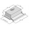 Вытяжки FABIANO SLIM LUX 90 INOX
