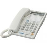 Стационарные телефоны PANASONIC KX-TS2368RUW