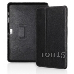 Чехлы для планшетов Yoobao Executive Leather Case black Samsung Galaxy Note 10.1 N8000