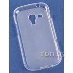 Чехлы для смартфонов Case for Samsung i8190 white 0,2мм