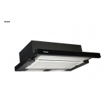 Вытяжки FABIANO SLIM LUX 60 BLACK GLASS