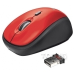 Мышки TRUST Yvi Wireless Mini Mouse Red