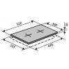 Варочные поверхности VENTOLUX HE302(INOX)2