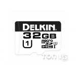 Карты памяти DELKIN MICROSDHC 32GB + SD-ADAPTER (DDMSD37532GB)