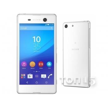 Смартфоны SONY XPERIA M5 DUAL E5663 (WHITE)