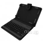 Аксессуары для планшетов DIGITAL GADGETS BLUETOOTH KEYBOARD CASE FOR TABLETS 7 IPAD MINI BLACK DU7KC01-R