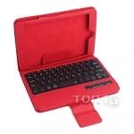 Аксессуары для планшетов DIGITAL GADGETS PORTFOLIO BLUETOOTH KEYBOARDCASE FOR TABLETS 7 IPAD MINI / MINI2 RED DPMINIKC-R