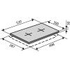Варочные поверхности VENTOLUX HG320EE (BLACK) 2