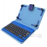 Аксессуары для планшетов DIGITAL GADGETS BLUETOOTH KEYBOARD CASE FOR TABLETS 7 IPAD MINI BLUE DU7KC01-R