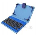 Аксессуары для планшетов DIGITAL GADGETS BLUETOOTH KEYBOARD CASE FOR TABLETS 7 IPAD MINI BLUE DU7KC01-R