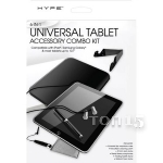 Аксессуары для планшетов HYPE UNIVERSAL TABLET ACCESSORY COMBO KIT 6-IN-1 FOR TABLET 10.1 BLACK HY-TABCMB-BLK