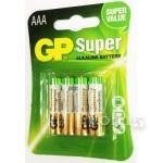 Гаджеты и аксессуары GP SUPER ALKALINE AAA (GP24A-2UE4)