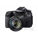 Зеркальные фотоаппараты CANON EOS70D (W) EF-S 18-135 IS STM KIT (ВИТРИНА)