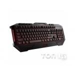 Клавиатуры ASUS CERBERUS USB BLACK UKR (90YH00R1-B2QA00)