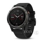 Smart часы GARMIN FENIX 5 SLATE GRAY WITH BLACK BAND (010-01688-00)
