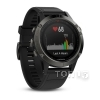 Smart часы GARMIN FENIX 5 SLATE GRAY WITH BLACK BAND (010-01688-00)