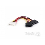 Аксессуары IT VINGA SATA POWER CABLE 0.15M