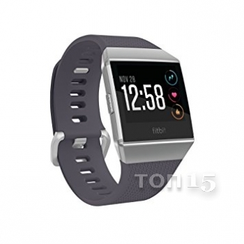 Smart часы FITBIT IONIC WATCH BLUE GRAY / SILVER GRAY ONE SIZE ( S & L INCLUDED ) FB503WTGY