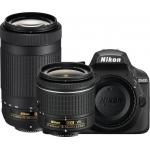 Зеркальные фотоаппараты NIKON D3400 AF-P DX NIKKOR 18-55MM F/3.5-5.6G VR AF-P DX NIKKOR 70-300MM F/4.5-6.3G ED LENS BLACK