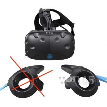 Шлемы VR HTC VIVE VIRTUAL REALITY HEADSET BLACK (99HALN002-00) С ОДНИМ МАНИПУЛЯТОРОМ
