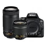 Зеркальные фотоаппараты NIKON D3500 AF-P DX NIKKOR 18-55MM F/3.5-5.6G VR AF-P DX NIKKOR 70-300MM F/4.5-6.3G ED (EN)
