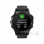 Smart часы GARMIN FENIX 5 PLUS SAPPHIRE BLACK WITH BLACK BAND (010-01988-00)