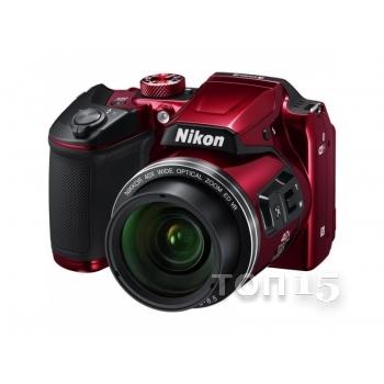 Цифровые фотоаппараты NIKON COOLPIX B500 RED