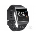 Smart часы FITBIT IONIC WATCH CHARCOAL / SMOKE GRAY ONE SIZE ( S & L INCLUDED ) FB503GYBK (ВСКРЫТЫЕ)