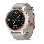Smart часы GARMIN D2 DELTA S WATCH WHITE/ROSE GOLD BAND 42mm (010-01987-30)