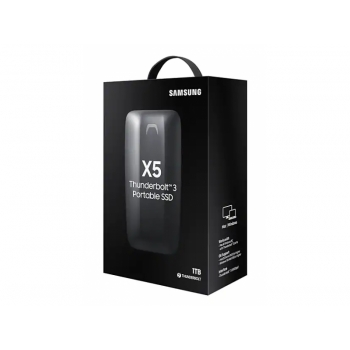 SAMSUNG PORTABLE SSD THUNDERBOLT 3 X5 1TB (MU-PB1T0B/AM)
