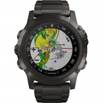 Smart часы GARMIN D2 DELTA PX AVIATOR WATCH WITH CARBON GRAY TITANIUM BAND 51mm (010-01989-30)