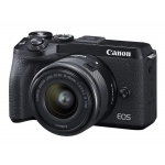 Цифровые фотоаппараты CANON EOS M6 MARK II EF-M15-45mm LENS AND EVF-DC2 VIEWFINDER