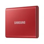 SSD диски SAMSUNG SSD T7 PORTABLE 2TB RED (MU-PC2T0R)