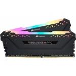 Оперативная память CORSAIR VENGEANCE RGB PRO 64GB (2 x 32GB) DDR4 DRAM 3200MHz C16 MEMORY KIT BLACK (CMW64GX4M2E3200C16)