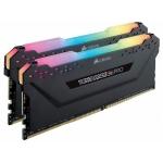 Оперативная память CORSAIR VENGEANCE RGB PRO 32GB (2 x 16GB) DDR4 DRAM 3600MHz C18 AMD RYZEN MEMORY KIT BLACK (CMW32GX4M2Z3600C18)