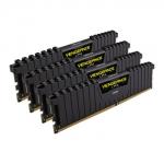 Оперативная память CORSAIR VENGEANCE LPX 128GB (4x32GB) DDR4 DRAM 3200 МГц C16 BLACK (CMK128GX4M4E3200C16)